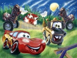 Disney Pixar Cars - Wallpaper-4